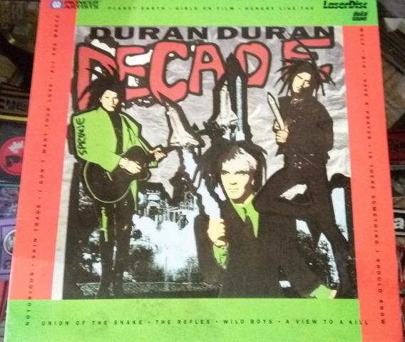 Duran Duran Decade Laserdisc Usa (1989) En La Plata 20v