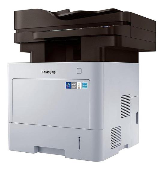 Impressora multifuncional Samsung ProXpress SL-M4080FX com Wi-Fi 110V - 127V preta e cinza