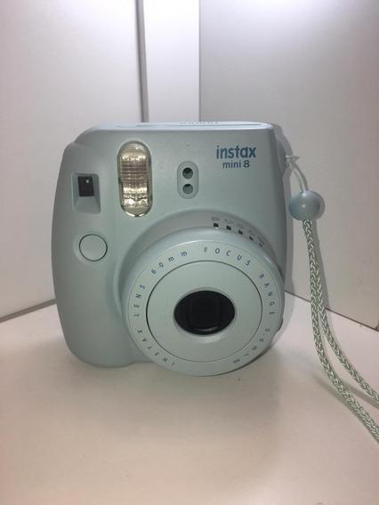 Câmera Instantânea Instax Mini 8 Cor Azul Bebê