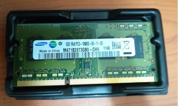 Memoria Ram Ddr3 1gb Pc3-10600s 100% Original Samsung Laptop