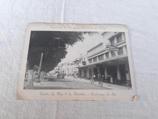 Cartão Postal Rua Sete Setembro Cachoeira Sul Rs 1956