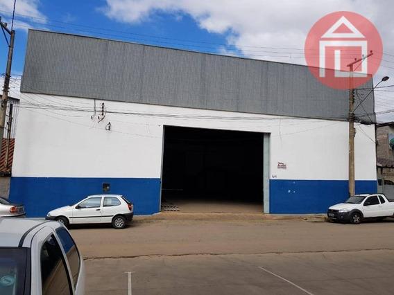Galpão Para Alugar, 822 M² Por R$ 8.500/mês - Matadouro - Bragança Paulista/sp - Ga0005