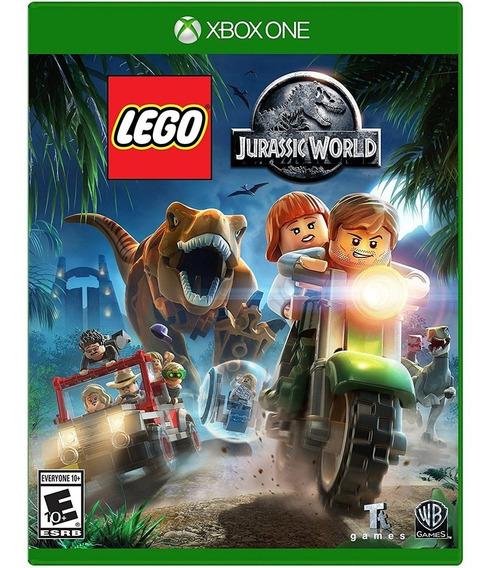 Lego Jurassic World Xbox One Mídia Física Novo Em Português