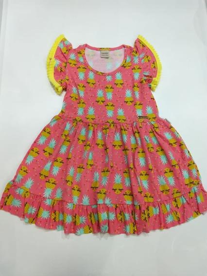 Vestidos Juvenil Menina Verão Roupa Criança Vanetex