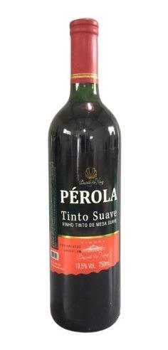 Vinho Tinto Suave Isabel/bordô Pérola 1l - Quinta Do Nino