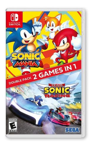Sonic Mania + Team Sonic Racing - Nintendo Switch
