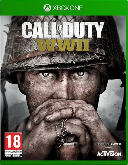 Call Of Duty Wwii, Xbox One, Disco, Novo, Lacrado!
