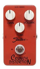 Pedal Shelter Crunch Distortion Scd Distorção Para Guitarra.