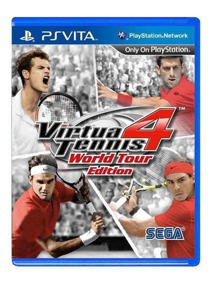 Virtua Tennis 4 World Tour Edition - Ps Vita - Original