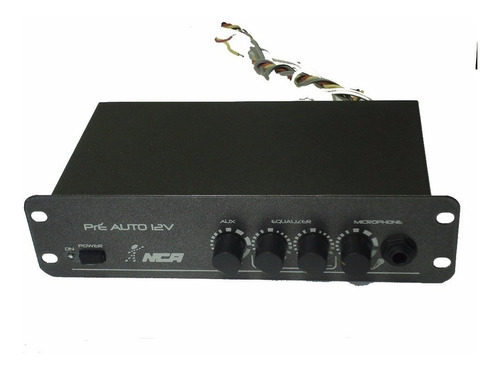 Pré Amplificador Ll Nca Mixer Automotivo 12v Para Microfone