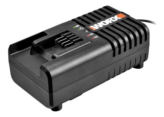 Cargador De Bateria Litio Worx 4 A 20 V Indicador Led Wa3860