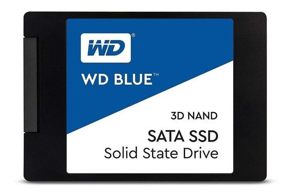 Ssd 500gb Blue Western Digital - Wds500g1b0a