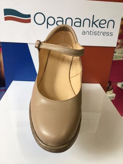 Sapato Opananken Donna 54612 Amêndoa