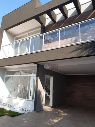 Sobrado Com 3 Dormitórios À Venda, 236 M² Por R$ 600.000,00 - Jardim Manaus - Foz Do Iguaçu/pr - So0051