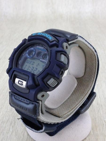 Relógio G-shock Pulseira De Velcro - Raro Vintage