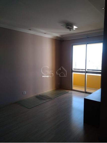 Apartamento Com 3 Dormitórios, Todos Com Armários Dormitório Do Casal Com Painel Banheiro Com Box E Gabinete Sala Com Varanda, 1 Vaga - Ap00515 - 68132156