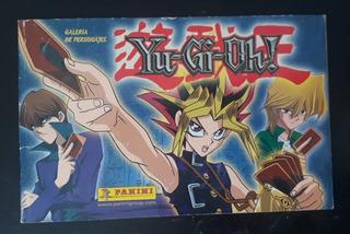 Álbum Yu-gi-oh! Galería De Personajes Panini Faltan 3 Estamp