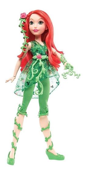 Muñeca Dc Super Hero Girls Poison Ivy De Mattel. 25 Trumps.
