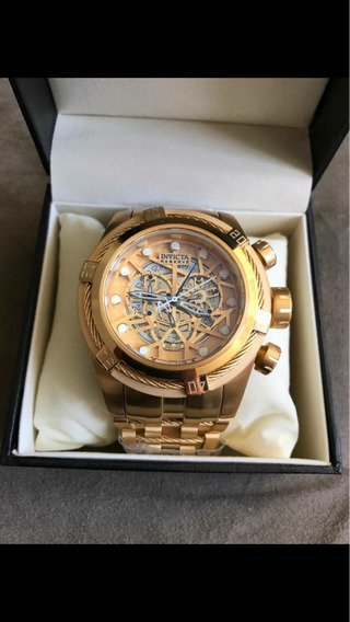 Relógio Invicta Com Caixa E Certificado Da Invicta