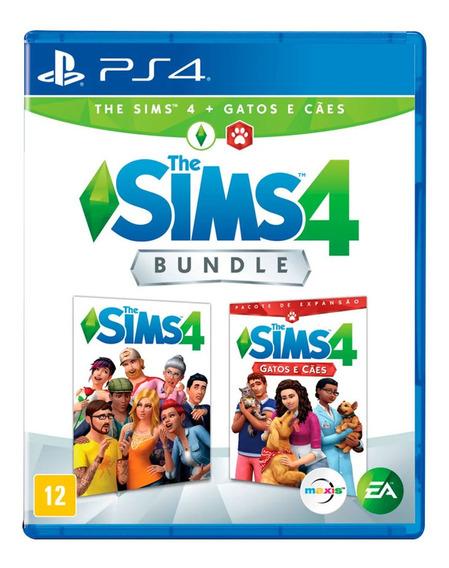 Jogo Ps4 - The Sims 4 - Pacote De Expansão - Gatos E Cães -