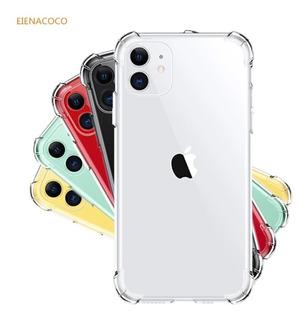 Capa Anti Impacto Iphones Xr X 11 Pro Max + Pelicula Vidro