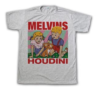 Remera Melvins Disco Houdini - Rock - Hombres Y Mujeres
