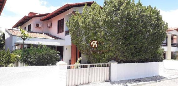 Casa Com 4 Dormitórios À Venda, 179 M² Por R$ 600.000 - Edson Queiroz - Fortaleza/ce - Ca0168