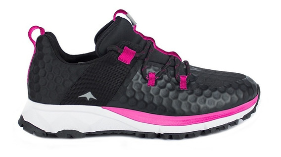 Zapatilla Montagne Trail Running Mujer Fast Traction