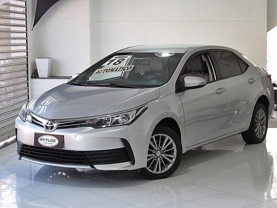 Toyota Corolla 1.8 Gli Upper 16v Flex 4p Automático 2018