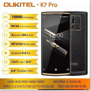 Oukitel K7 - Pronta Entrega - Super Bateria 10000mah - 64gb