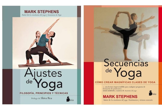 Pack Secuencias + Ajustes De Yoga - Stephens Mark (2 Libros)