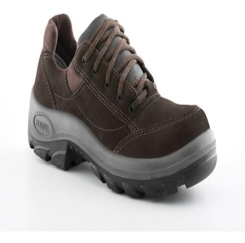 Sapato Tênis Marrom De Segurança Bompel C.a 33791