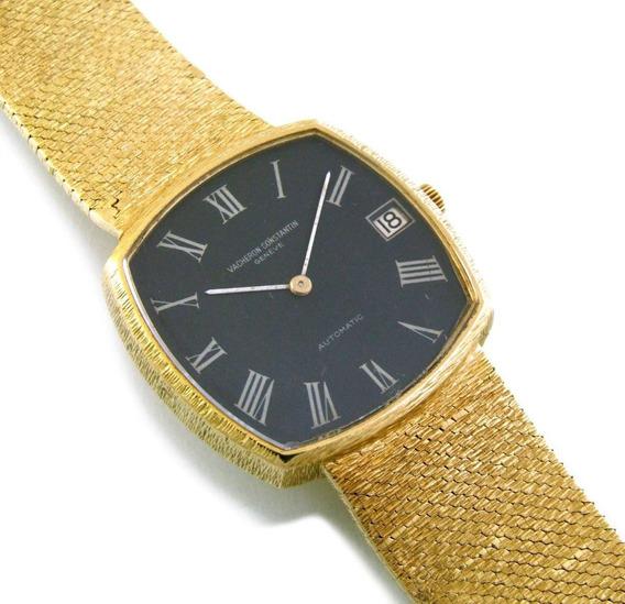 Vacheron E Constantin Automático Relógio Todo Em Ouro J5182