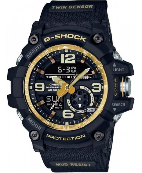 Relógio Cássio Gg-1000gb-1adr Novo Na Caixa
