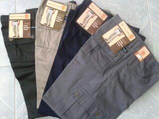 Pantalon Tipo Cargo Tactico Negro