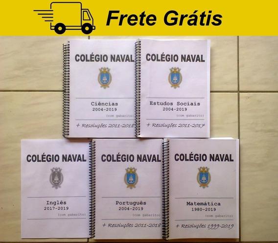 Apostila Provas Colégio Naval Comentada Resolvida Gabarito