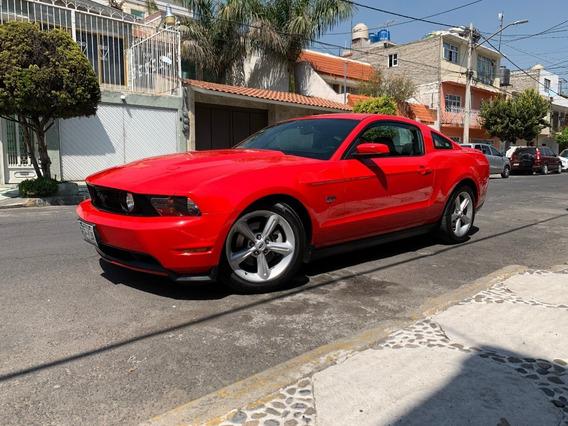 Ford Mustang Gt V8 2011 Piel Rines Factura De Agencia Nuevo