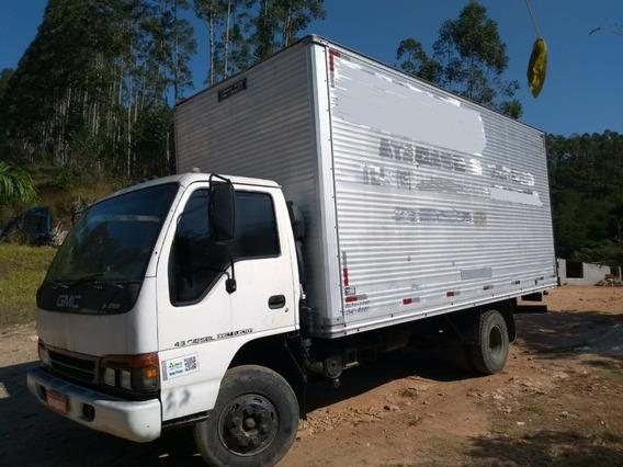 Gmc 7110 3/4 - 1997 Com Baú 5,5m Econômico Barato Conservado