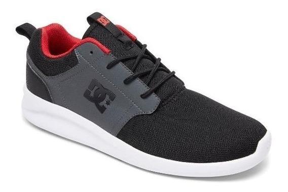 Zapatillas Hombre Dc Midway Sn Vn // Skate // Urbanas