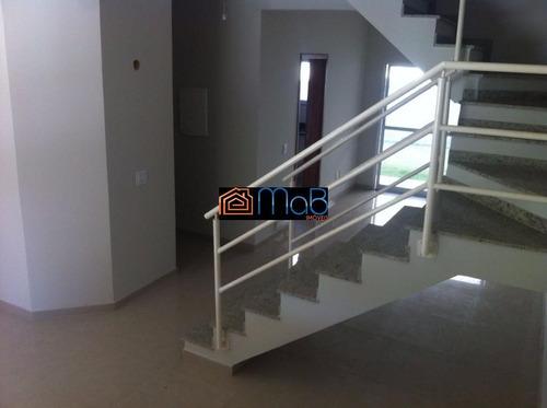 Excelente Casa Duplex Em Condomínio Residencial - Ca065