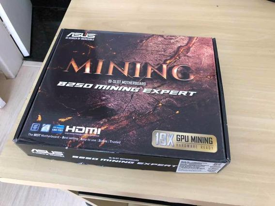 Placa Mãe Asus B250 Mining Expert Mineração
