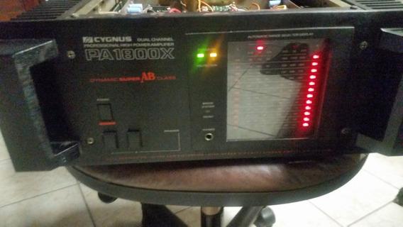 Amplificador Cygnus, Modelo Pa 1800x