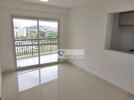 Apartamento Com 2 Dormitórios À Venda, 74 M² Por R$ 559.000 - Edifício Bellagio Ecopark - Alphaville - Ap1884