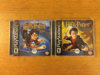 Harry Potter Sorcerers Stone Chamber Of Secrets Ps1 Ps2 Ps3