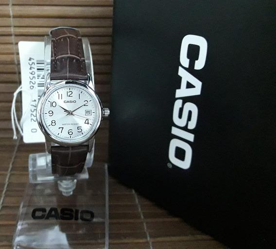 Relógio Casio Feminino Modelo: Ltp-v002l-7b2udf Nota Fiscal E Garantia Oficial Casio
