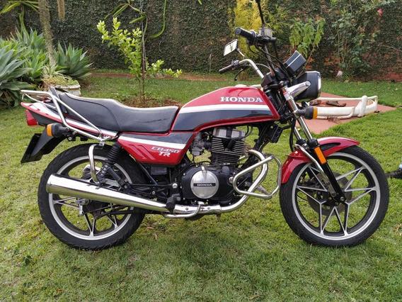 Cb 450 Tr 1987 Honda Raridade