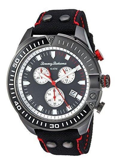Reloj De Cuarzo De Acero Inoxidable Tommy Bahama Para Hombre