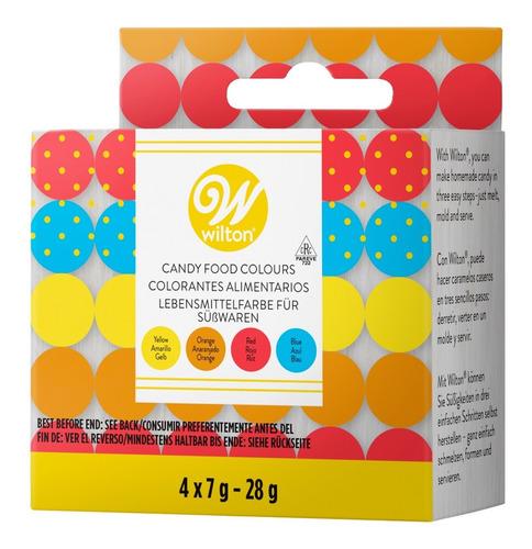 Colorantes Liposolubles Para Chocolate 4pza Wilton 04-0-0082