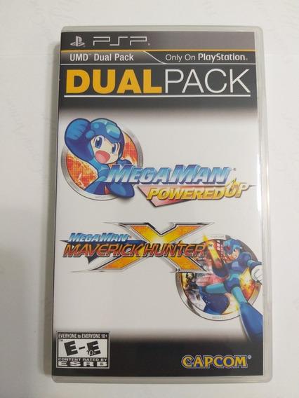 Mega Man Dual Pack Maverick Hunter E Powered Up (+brinde)