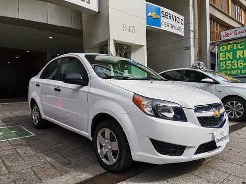 Imagen 1 de 13 de Chevrolet Aveo 1.6 Ls Aa Radio Airbag Facelift Mt 2017